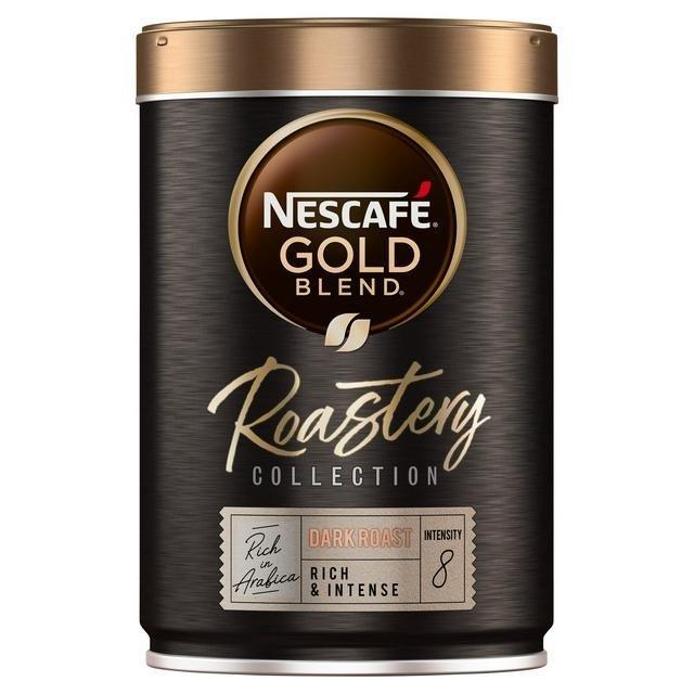 Nescafe Gold Blend Roastery Ground Dark Roast Can 100g NEW