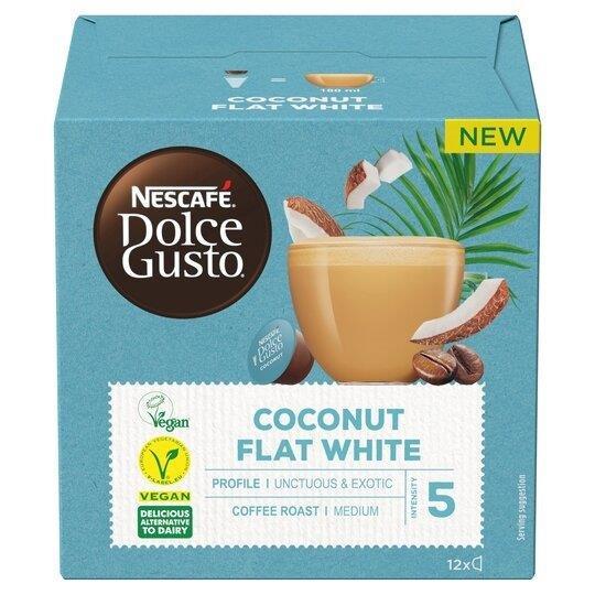 Nescafe Dolce Gusto Flat White Coconut 12