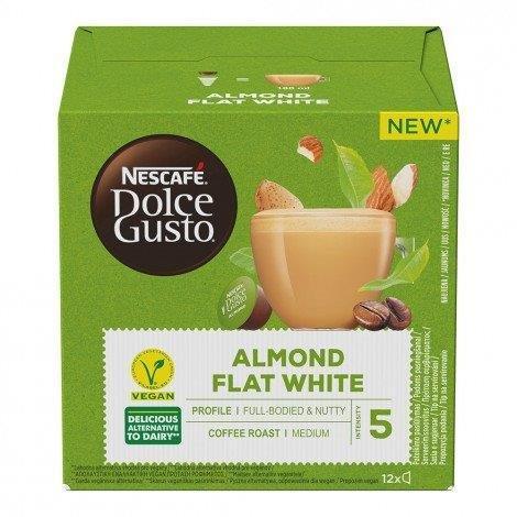 Nescafe Dolce Gusto Flat White Almond 12's 132g