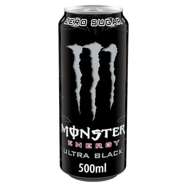 Monster S/F Ultra Black 500ml NEW