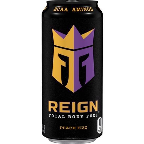 Reign Zero Sugar Peach Fizz 500ml PM £1.49 NEW