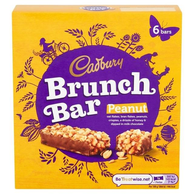 Cadbury Brunch Protein Peanut 5pk (5 x 32g) NEW