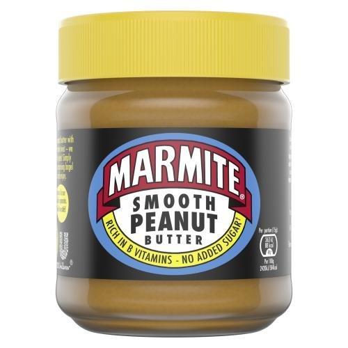 Marmite Peanut Butter Jar Smooth 225g NEW