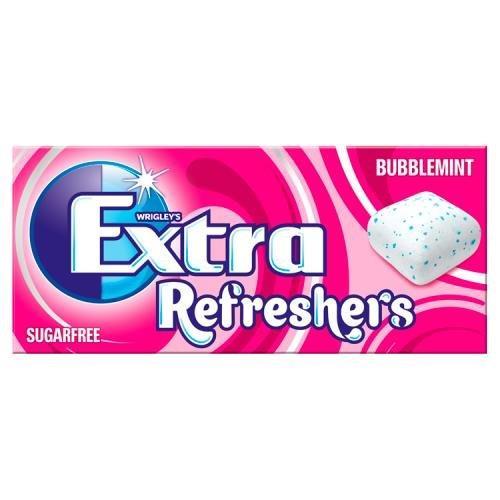 Wrigley's Extra Refreshers 7's Bubblemint S/F 15.6g