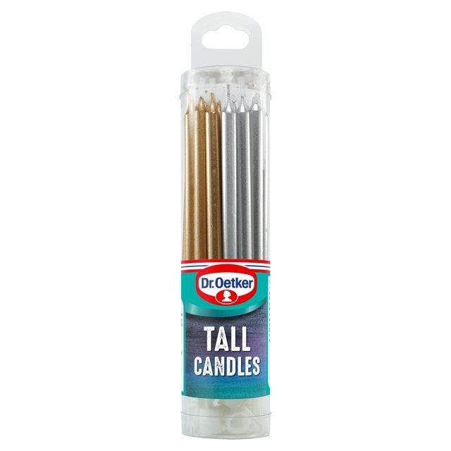 Dr. Oetker Tall Candles 18's