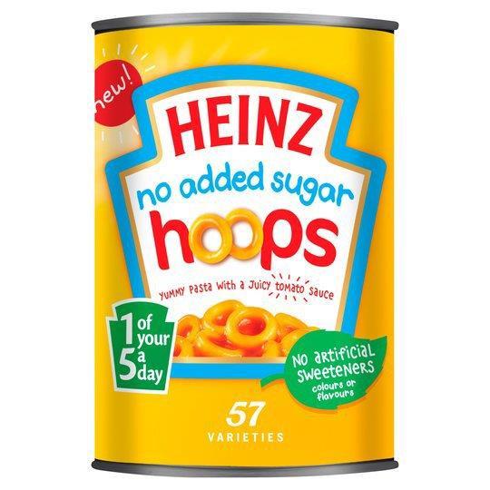 Heinz Hoops NAS 4pk (4 x 400g)