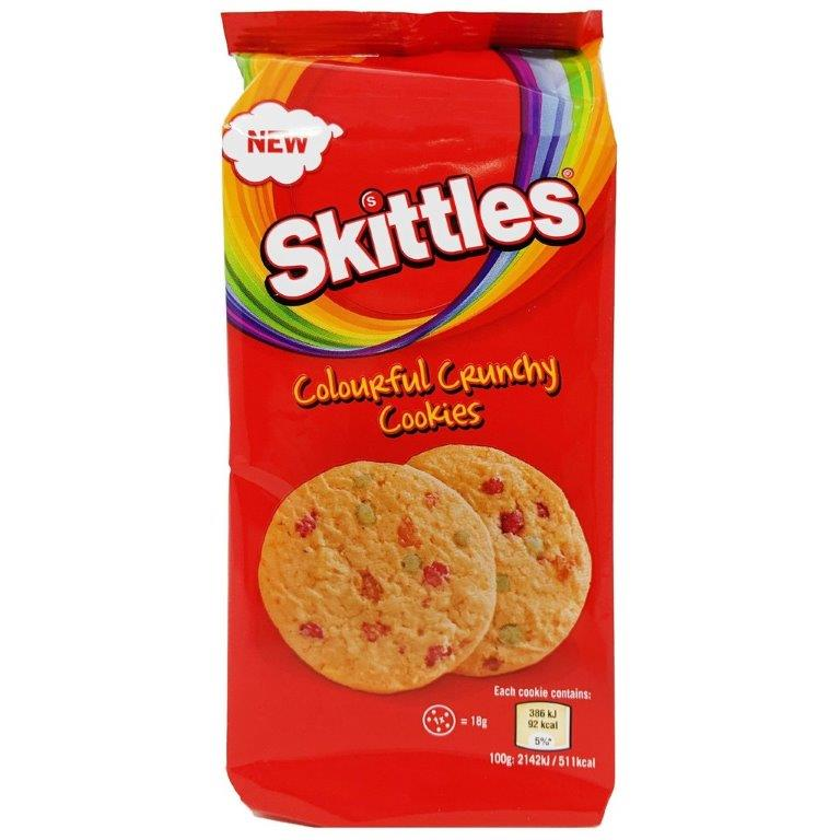 Mars Cookies - Large Size Skittles 162g NEW