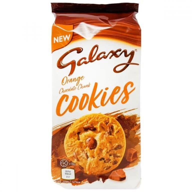 Mars Cookies - Large Size Galaxy Orange 162g NEW