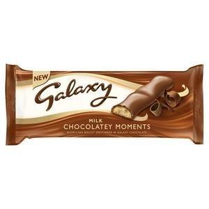 Mars Cookies - Galaxy Choc Moments 110g NEW