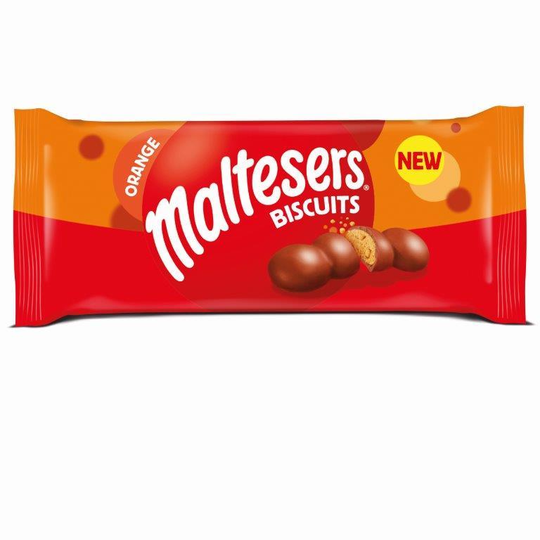Mars Cookies - Maltesers Biscuits Orange 110g NEW