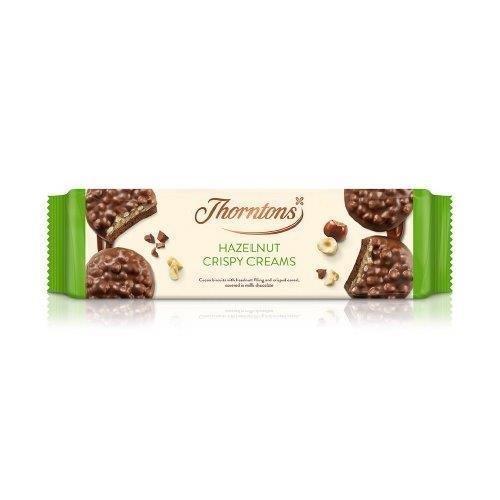 Thornton's Crispy Creams Hazelnut 128g NEW