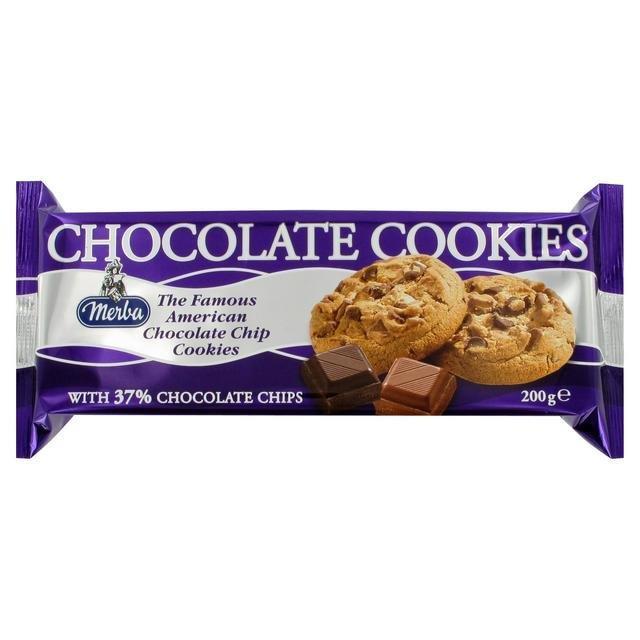 Merba Chocolate Cookie 200g PM £1