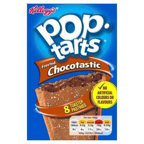 Kelloggs Pop-Tarts Choctastic 8pk (8 x 48g) NEW