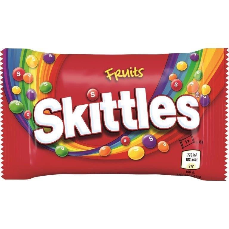 Skittles Std Fruit 45g