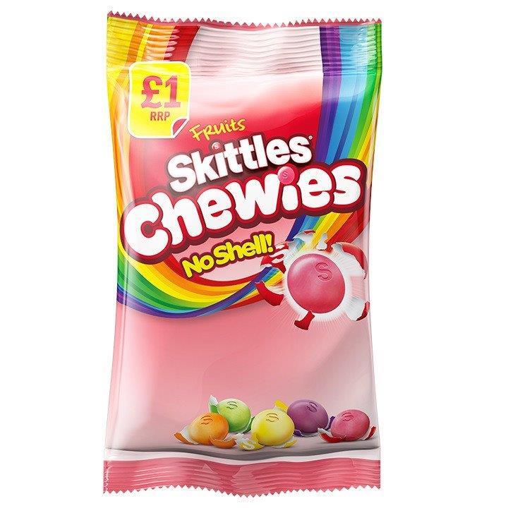 Skittles Bag Fruit Chewies 125g PM £1