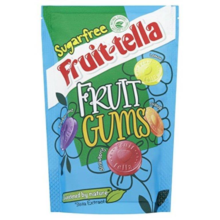 Fruitella Fruit Gums Sugar Free Pouch 90g