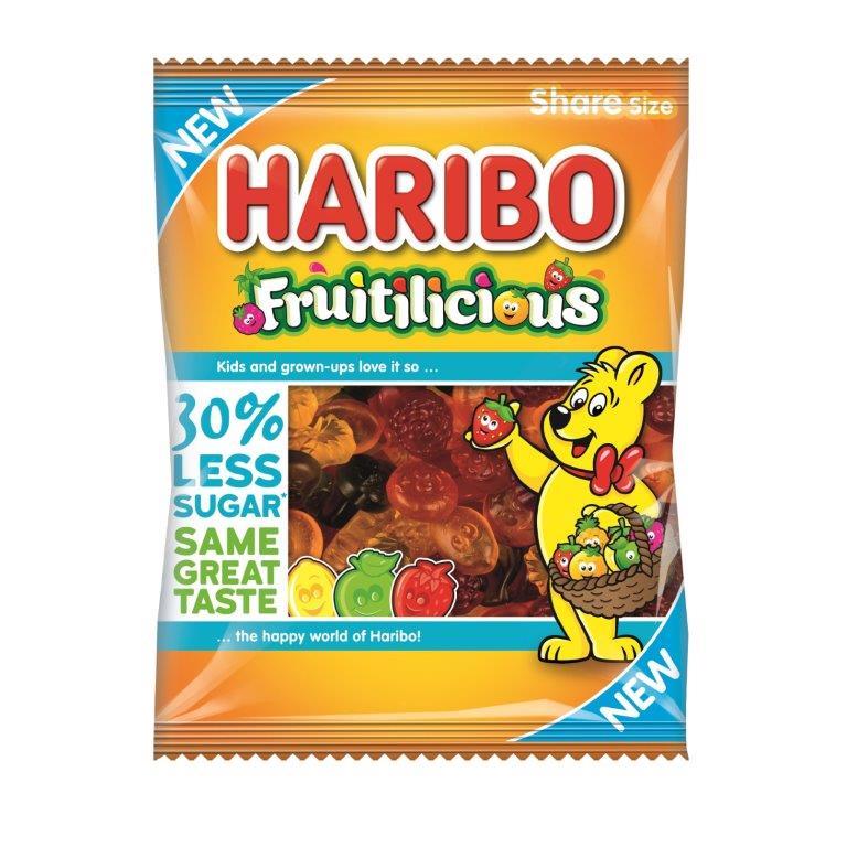 Haribo Fruitilicious 30% Less Sugar 120g
