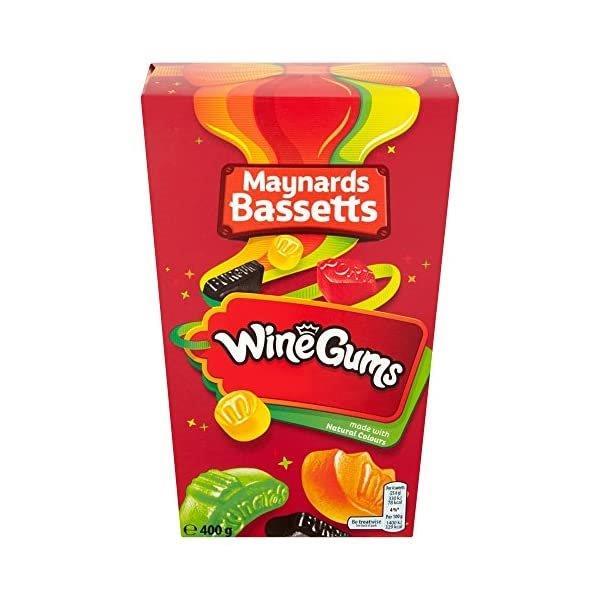 Maynards Bassets Wine Gums Carton 400g