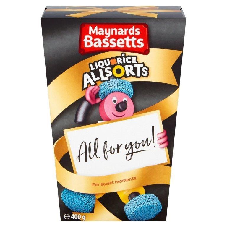 Maynards Bassets Liquorice AllSorts Carton 400g