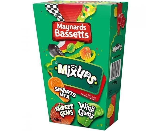 Maynards Bassetts Mix Ups Carton 400g