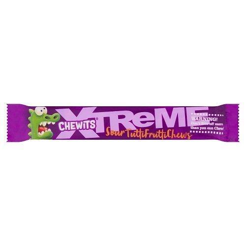 Chewits Xtreme Tutti Frutti 30g