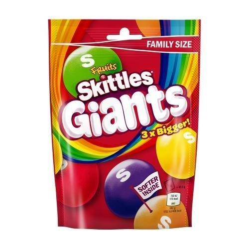 Skittles Pouch Fruit Giants Pouch 170g