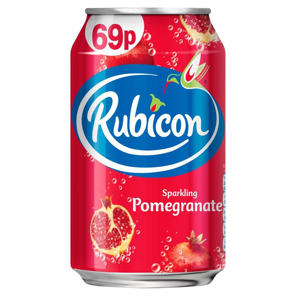 Rubicon Sparkling Pomegranate 330ml PM 69p