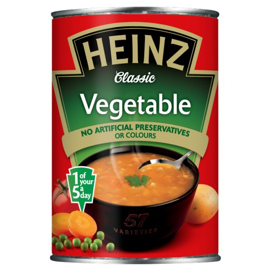 Heinz Soup Can Vegetable 400g