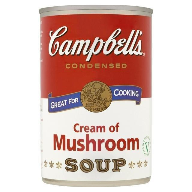 Campbell's Cream of Mushroom Soup Can 295g