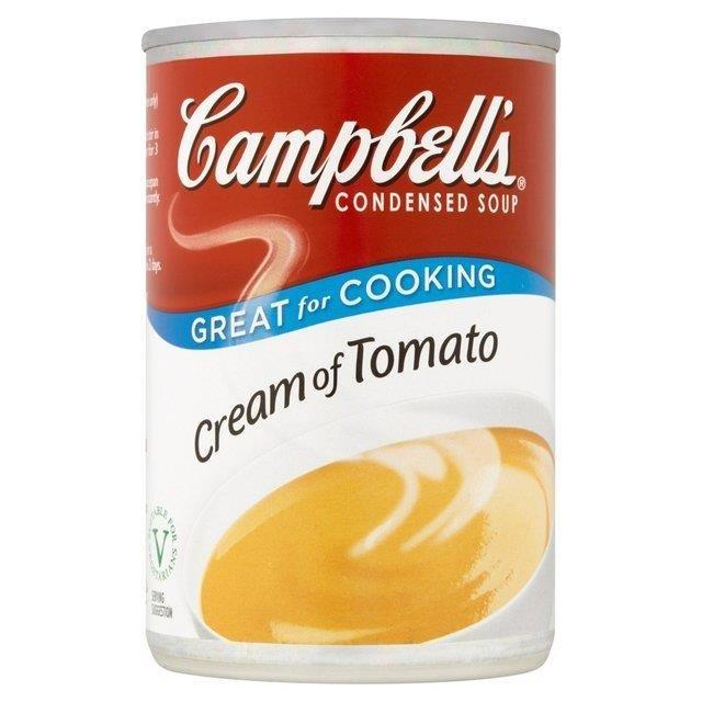 Campbell's Cream of Tomato Soup Can 295g
