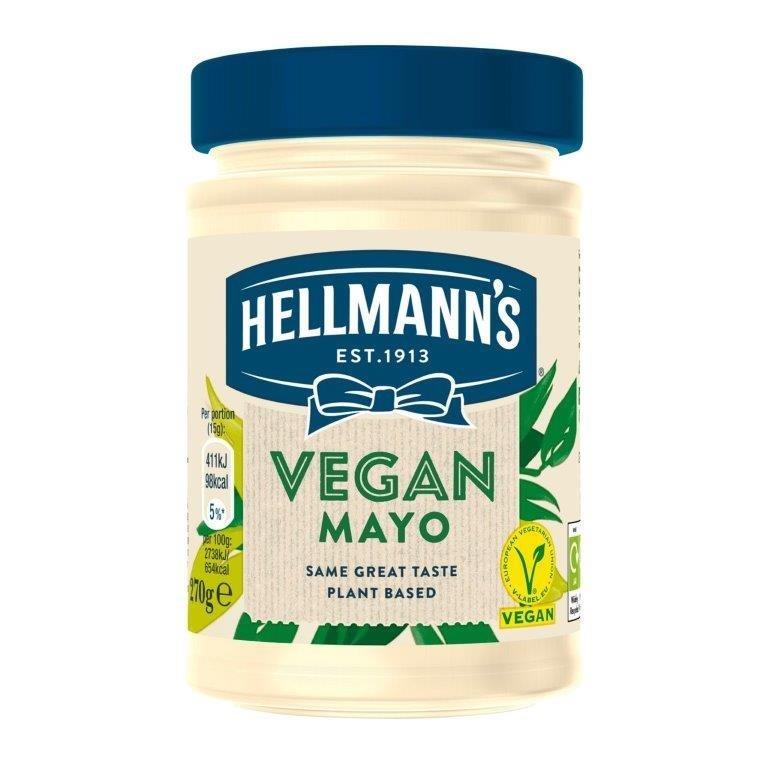 Hellman Vegan Mayo Pot 270g