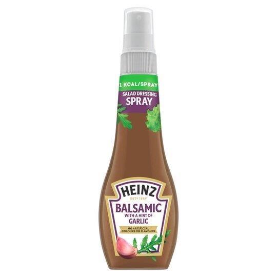 Heinz Salad Dressing Spray Balsamic Garlic 200ml NEW