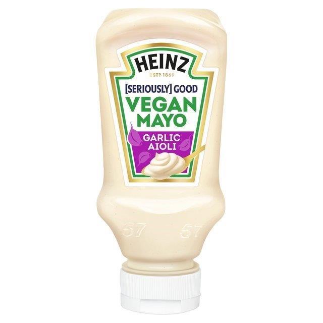 Heinz Vegan Mayo Garlic 220ml NEW