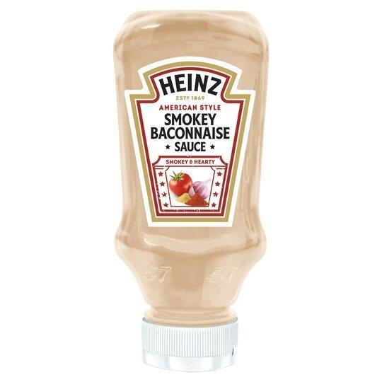 Heinz Sauce Smokey Baconnaise 220ml NEW